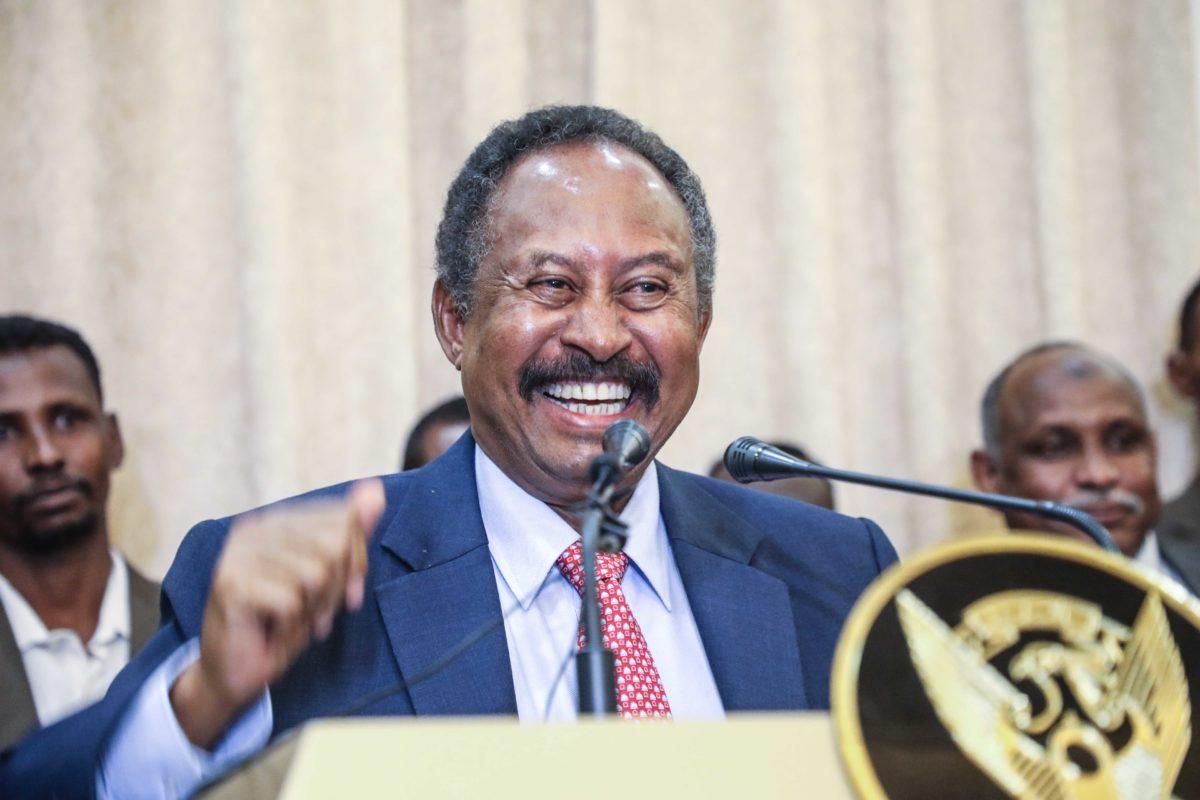 Sudan Prime Minister, Abdalla Hamdok, s