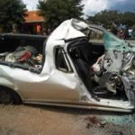 Two Police officers perish in motor accident