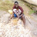 MUBS Student Resorts to Stone Quarrying to Meet Her Needs Amid COVID lockdown